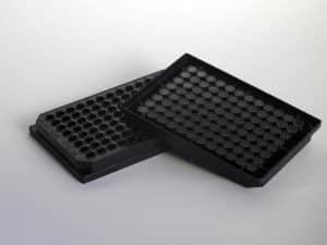 Biomat Black Solid 96 well plates