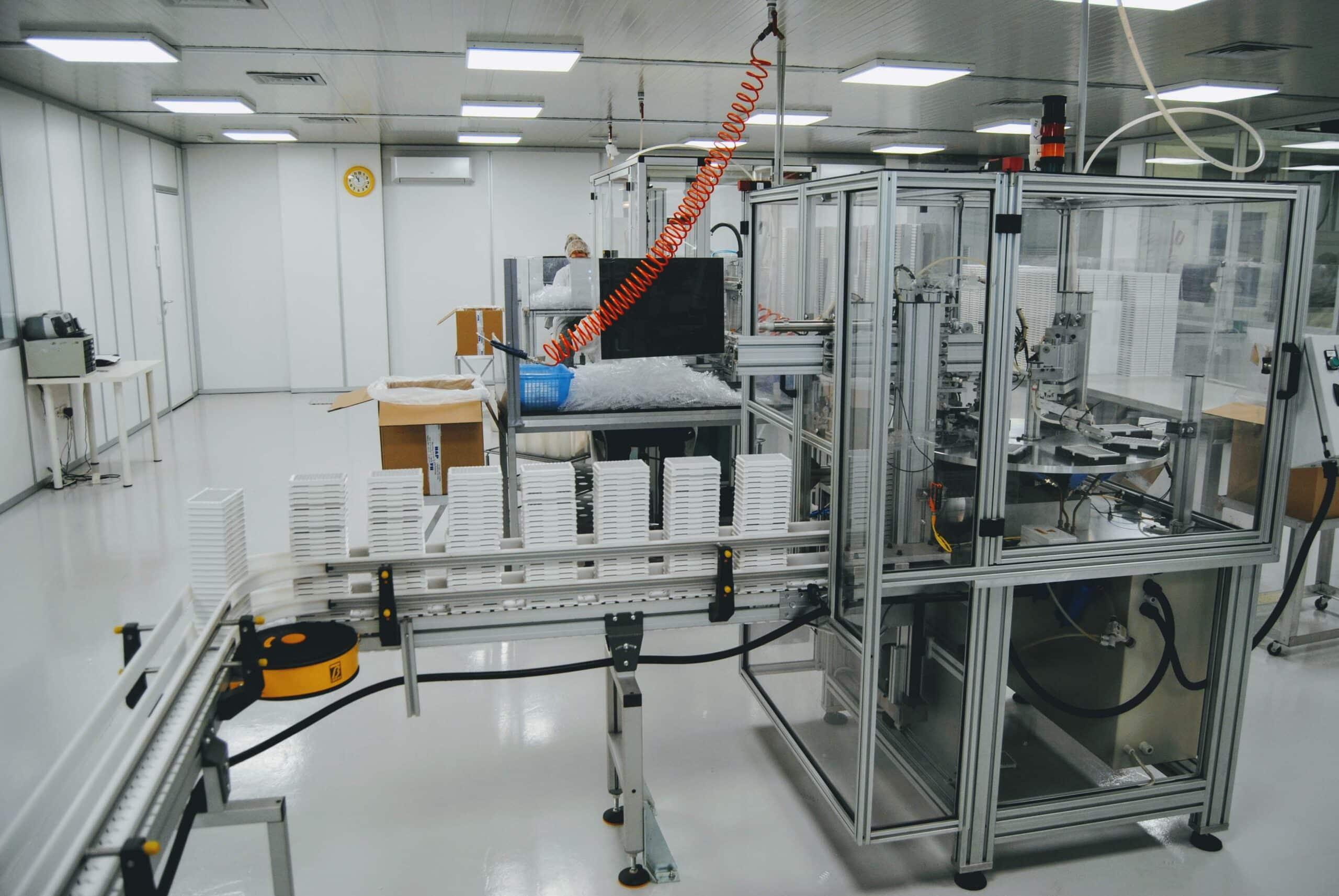 Biomat assembly line