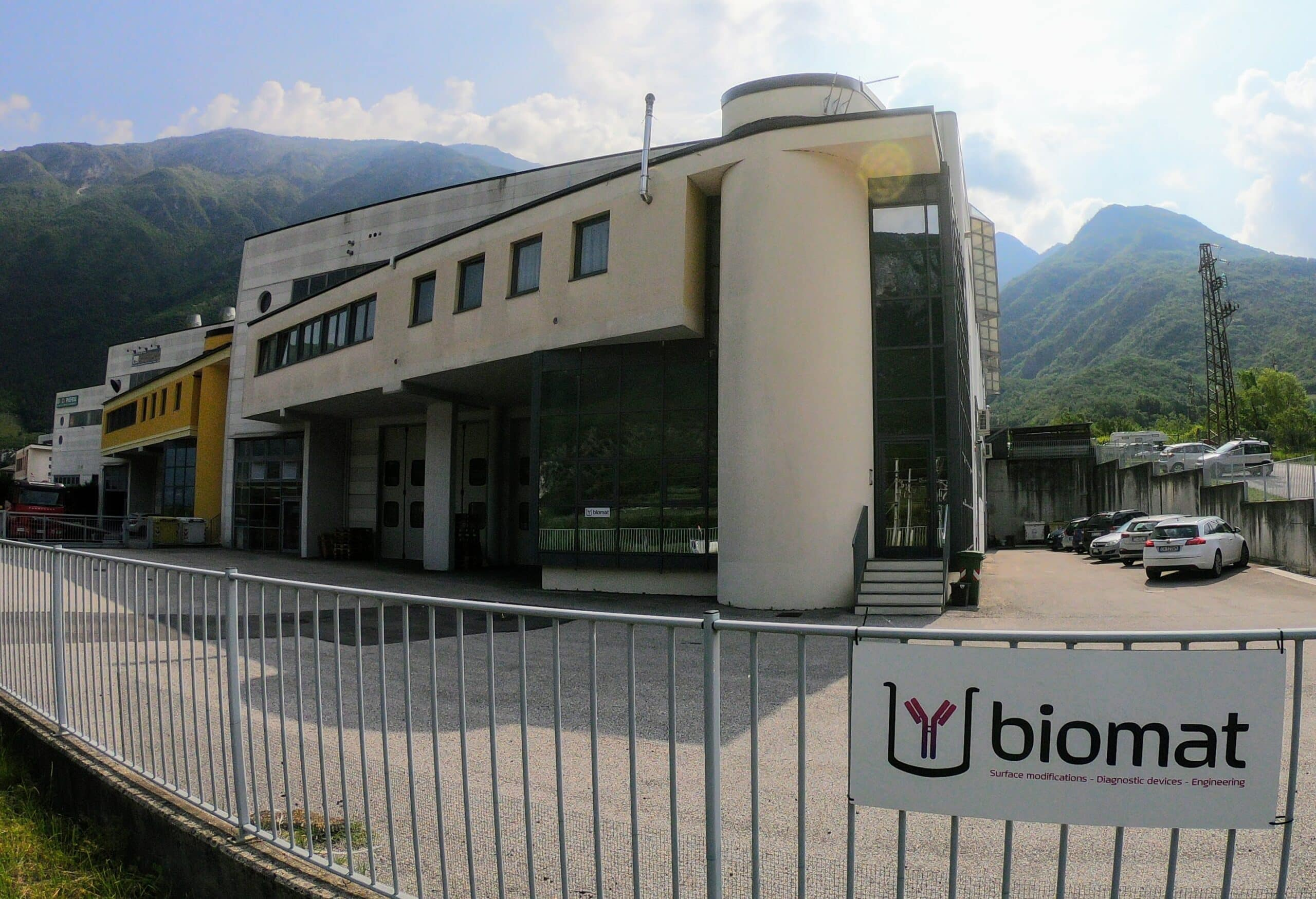 Biomat new office