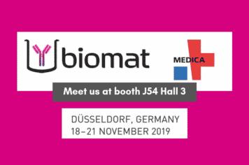 Biomat at MEDICA 2019