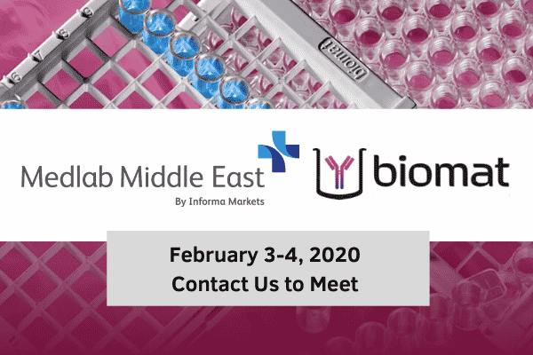 Biomat at Medlab 2020