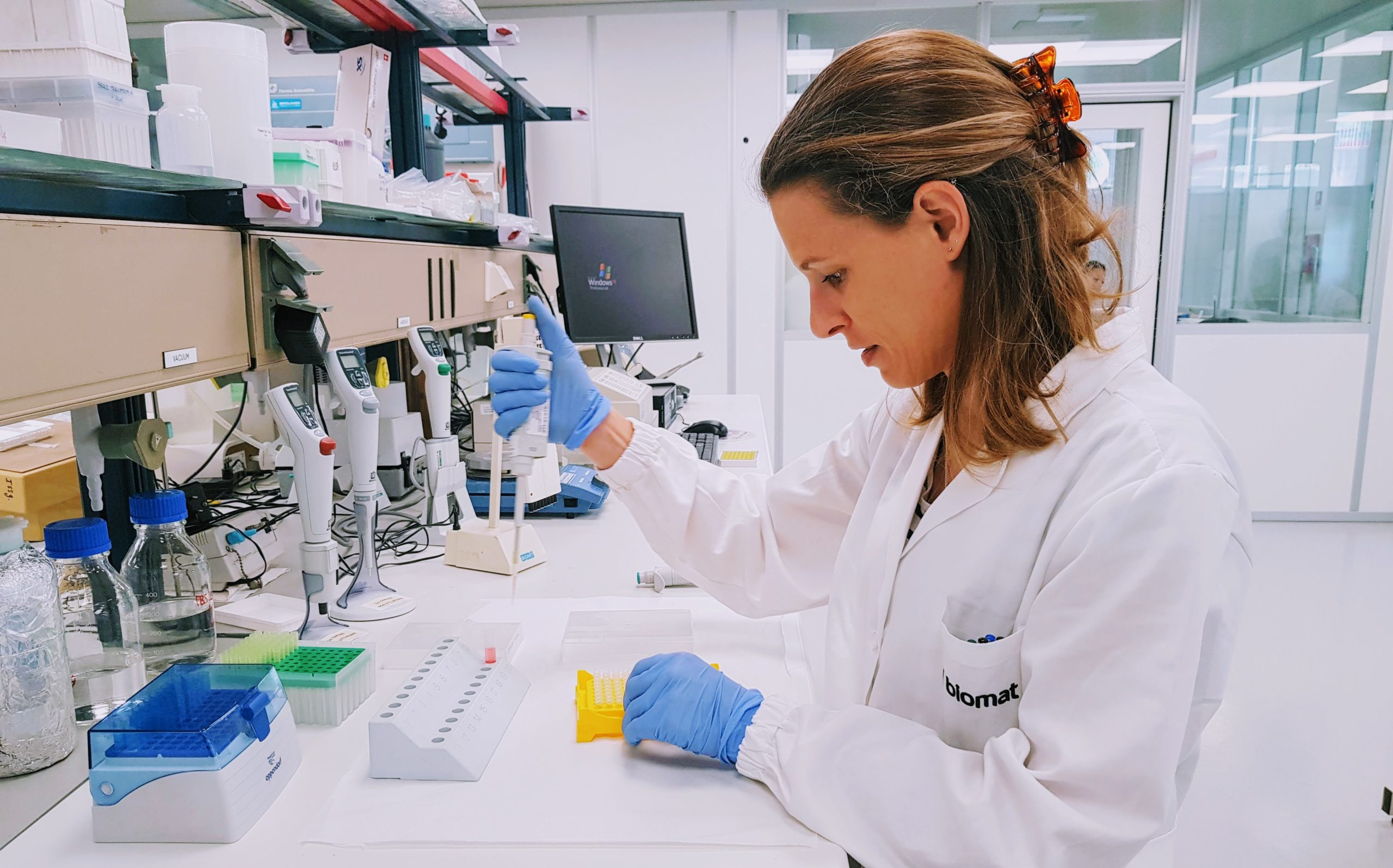 Biomat laboratory