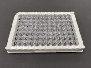 Biomat Clear 96 Well Strip Plate